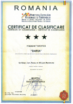 Certificat clasificare